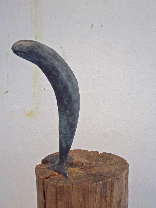 Fisch III 2009 – 20 ExemplareBronze, patiniert – 54 x 24 x 8,5 cm