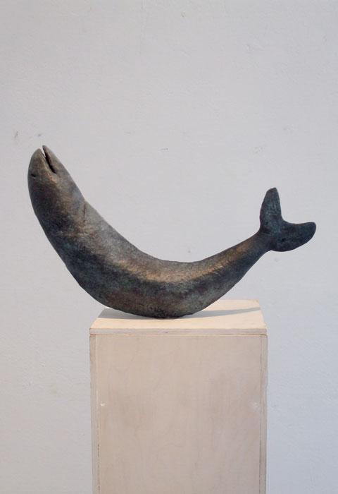 Fisch II 2009 – 20 ExemplareBronze, patiniert – 26 x 45 x 9 cm