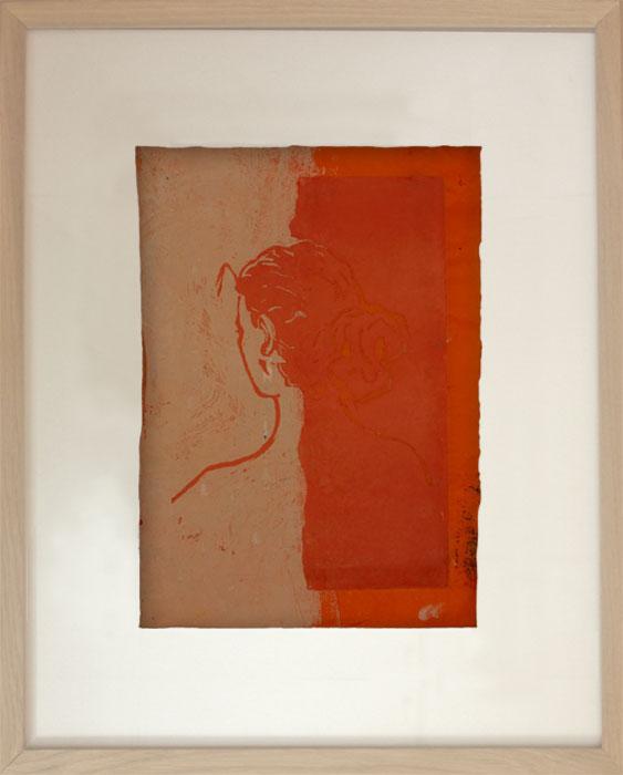 Lisa XLinoldruck, Tranparentpapier – 35 x 25 cm