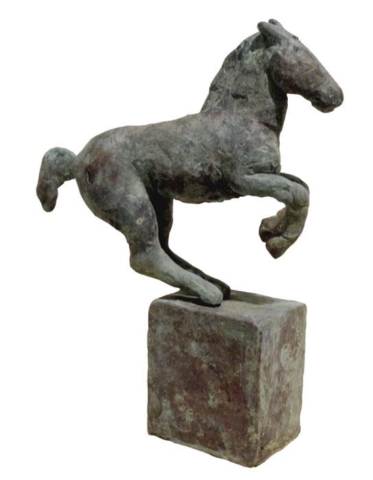 Hengst II 2013 – 20 ExemplareBronze, patiniert – 15 x 11,5 x 3,5 cm