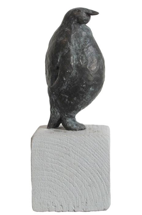 Pinguin S 2000 – UnikatBronze, patiniert – 9 x 4,5 x 4 cm