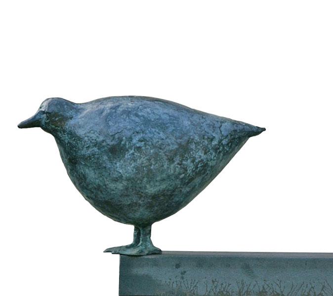 Huhn 2004 – 30 ExemplareBronze, patiniert – 20 x 33 x 16 cm