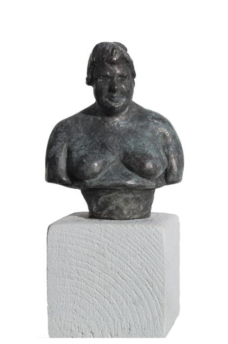 Kleine Frau 2006 – 20 ExemplareBronze, patiniert – 8,5 x 7 x 4 cm