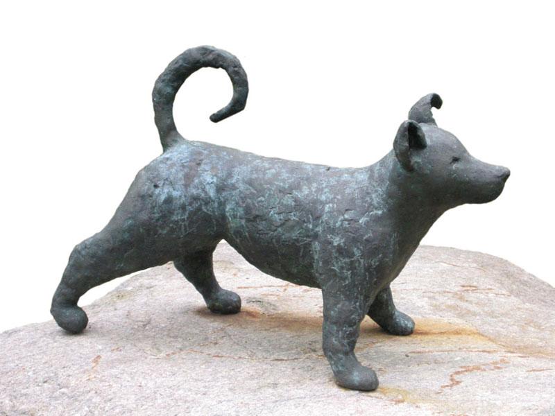 Hund 1998 – 10 ExemplareBronze, patiniert – 57 x 68 x 34 cm